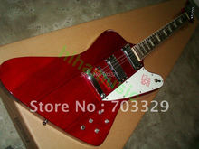 Brand new thund bird guitar explore free shipping dark red 6 strings fire bird firebird bass