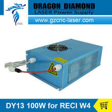 DY13 100w reci co2 power supply for reci co2 laser tube w4 S4 Z4 100w for co2 laser cutting machine