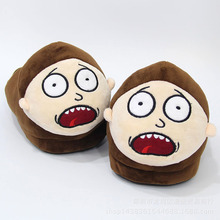 28cm 2017 Anime Anpanman Plush Foot Warmer Shoes Plush Slippers Stuffed Plush Shoes Cosplay Shoes Winter Home(China)