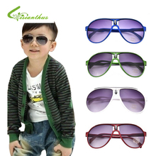 2017 Fashion Plastic Frame Baby Kids Sunglasses Eyeglasses Infants Boy Girls Goggles Sun Glasses oculos de sol infantil menina