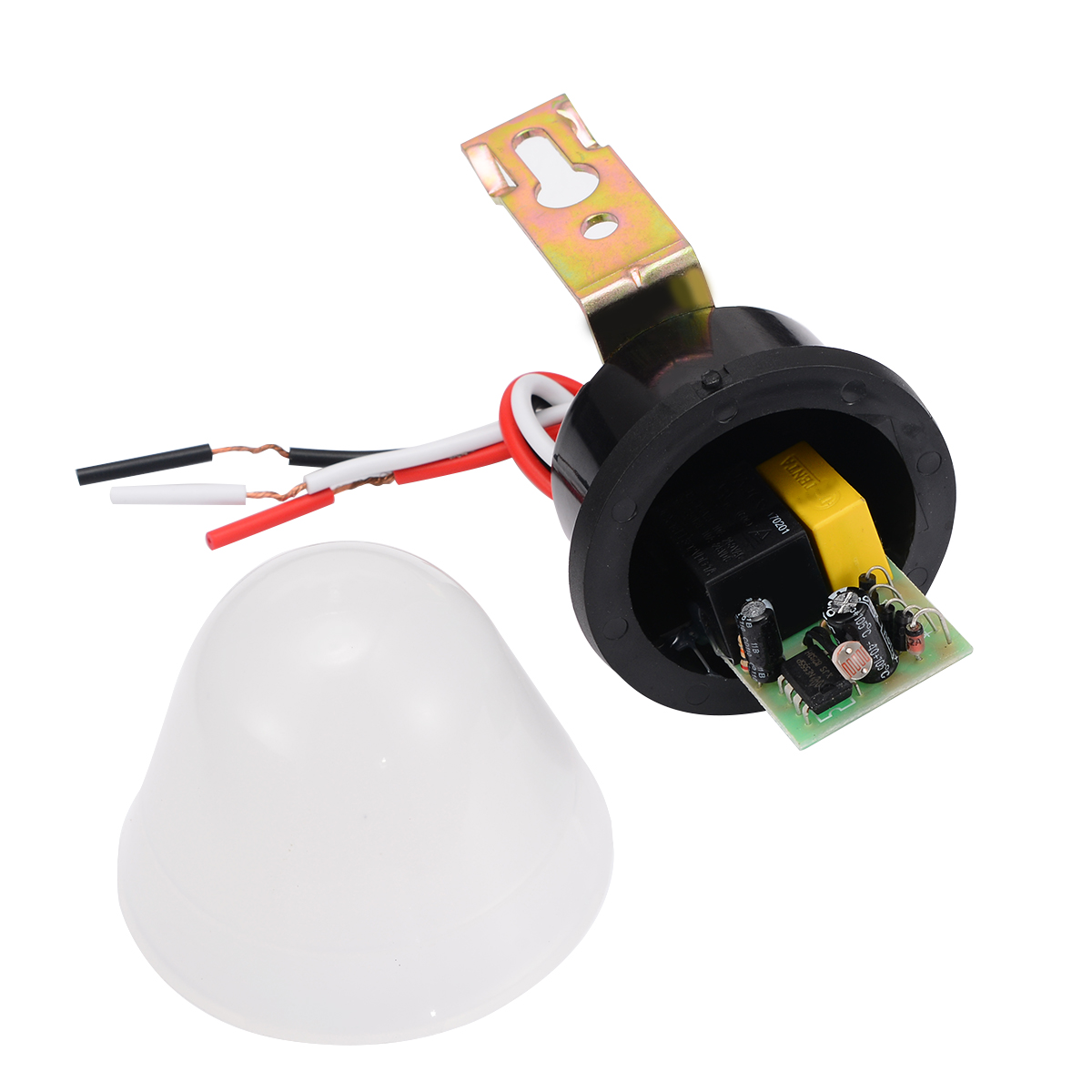 Automatic Light Sensor Photo Control Switch Mayitr Relay Photoswitch 180-240V for Outdoor Street Llighting Lamp LED Lights