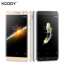 "XGODY Y15 6"" Smartphone 3G Dual SIM MT6580M Quad Core 512MB+8GB Mobile Phone Android 5.1 8MP Camera GPS WiFi Cell Phones"