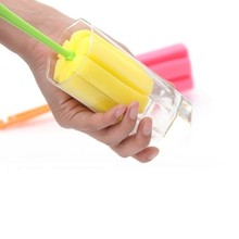 Nice 1pc Sponge Brush Bottle Cup Glass Washing Cleaning Kitchen Cleaner Tool