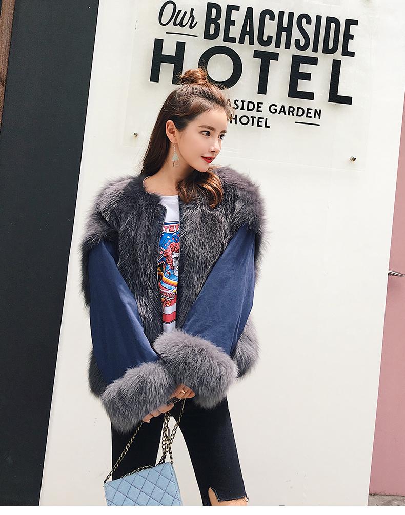 new styles fox fur jacket for women (9)