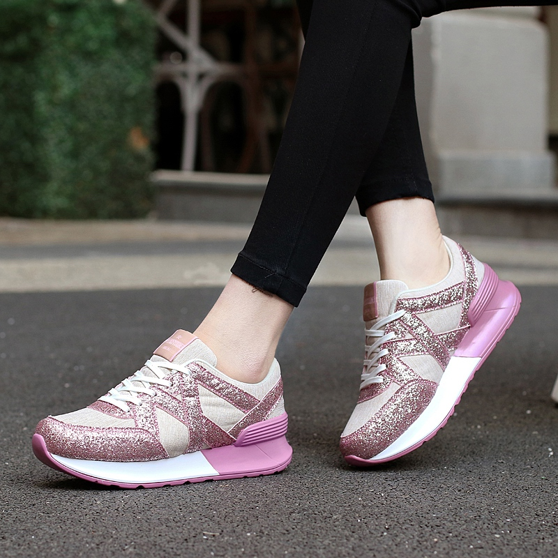 Hot Sale 2017 Fashion Flats Women Trainers Breathable Woman Shoes Casual Lightweight Walking Women Canvas Shoes Zapatillas Mujer<br><br>Aliexpress