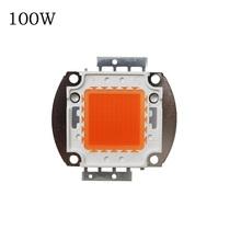 Deep Red LED CHIP 1W/3W 10W/20W/30W/50W/100W Led Grow Chip.Epistar led chip full spectrum 400nm-840nm for indoor plant grow 1PCS