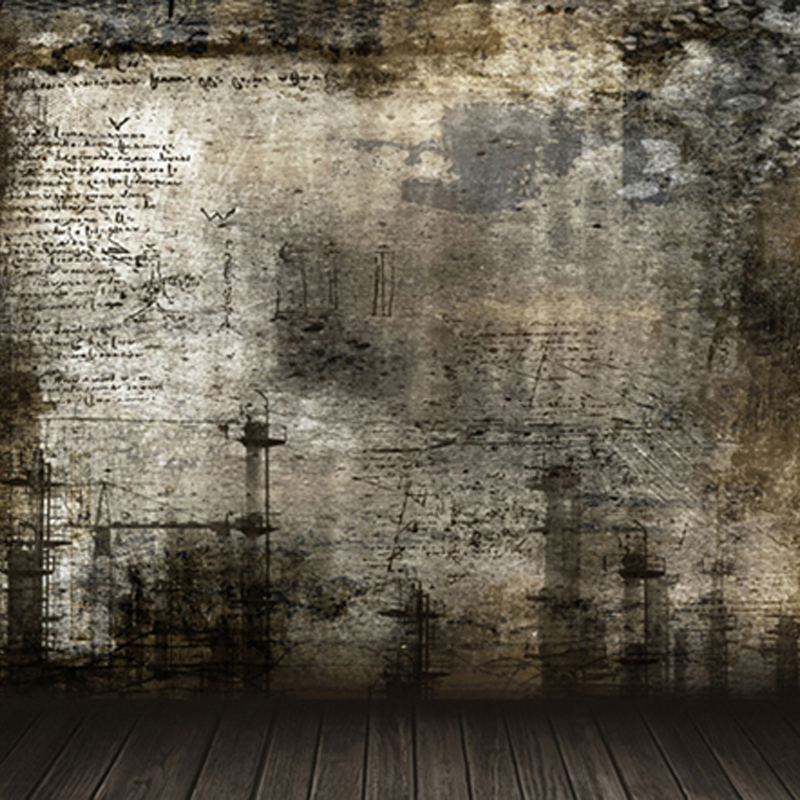 Grunge Photography Backdrops Brown Scrawl Wood Floor Children Photo Backgrounds for Studio fond photographie 150cm*200cm<br><br>Aliexpress