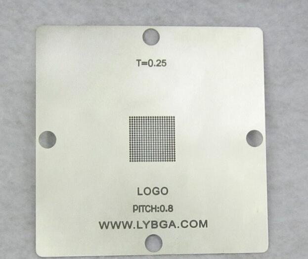 New arrival! BGA Reballing 80mm * 80mm PS4 Stencil CXD90025G 0.25mm<br><br>Aliexpress