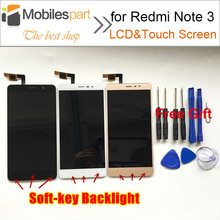 Lcd Screen for Xiaomi Redmi Note 3 Pro Soft-key Backlight Replace LCD Display+Touch Screen for Xiaomi Redmi Note 3/Prime 5.5''