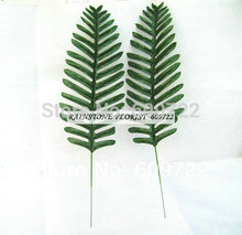 Christmas 49cm Fabric Home Garden Decor Artificial Phoenix Coconut Sago Palm Plant Tree Branch Leaf Green Fake Foliage Bonsai
