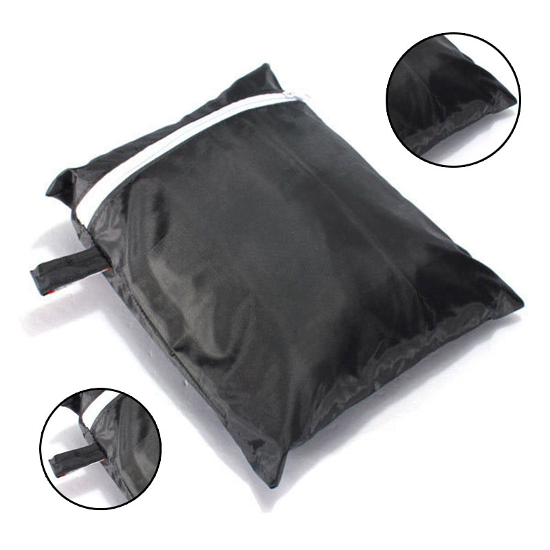 Black Barbecue Bag Water Dust Ultraviolet Resistance Grill Cover Outdoor Rain Protector Charcoal Tools Party Buffet Nylon PVC(China)