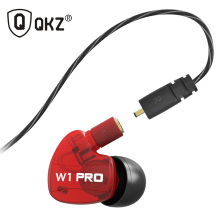 QKZ W1 Pro in Ear Earphones fone de ouvido For DJ MP3 Exercising Removable Cable auriculares audifonos fones de ouvido