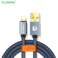 FLOVEME Denim USB Cable Type-c / Android iPhone 6 6S 7 Plus 5 5S SE Charger Samsung Huawei Xiaomi Micro L - AMart 3C Store store
