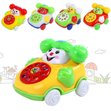 Buy Baby Toys Children Toys Educational Toys Cartoon Smile Phone Car Developmental Kids Toy Gift Free for $1.60 in AliExpress store
