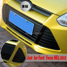 10 x New Styling Carbon Fiber Vinyl Sticker Grill Decoration Ford Focus MK3 2011 2012 - Elifestyle Store store