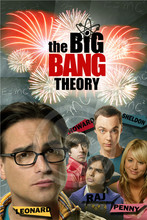 G7216 Custom big Bang Theory #e Home Decor modern For Bedroom Wall Poster Size 20x30CM Wall Sticker W@216