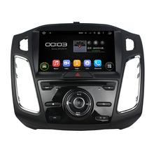 8inch New product Android 5.1.1 Car DVD Player For Focus 2015-2017 with GPS Navigation Radio built in wifi support sync(China)