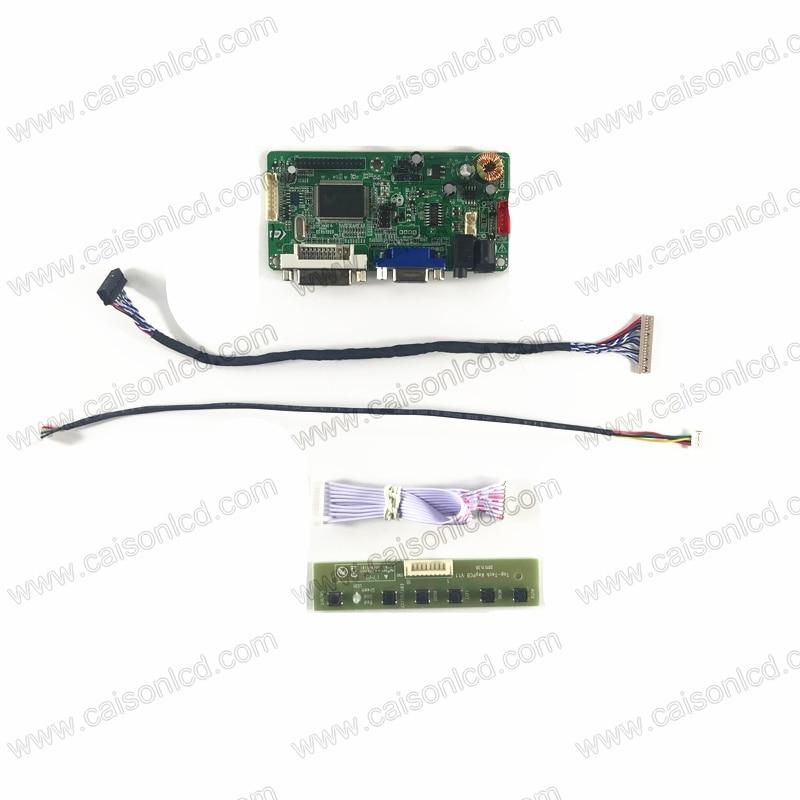"TV HDMI VGA USB CVBS RF LCD Controller Board For 12.1/"" LTD121ECNN 1024*768"
