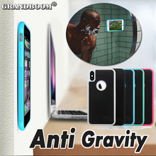 Anti gravity Nano Suction Cover Shockproof Case For iPhone X 8 7 6 6S Plus SE 5 5S Samsung Galaxy Note 8 S8 S7 Edge Phone Cases(China)