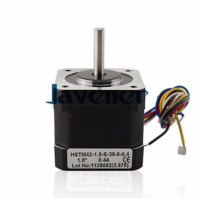 HSTM42 Stepping Motor DC Two-Phase Angle 1.8/0.4A/12V/6 Wires/Single Shaft<br><br>Aliexpress