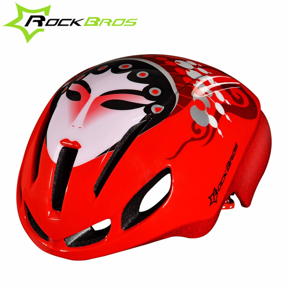 ROCKBROS Road Bike Helmet Jet-propelled  Cycling Ultralight Helmet Riding Bicycle EPS Breathable Helmets Chinese Opera Helmet<br><br>Aliexpress