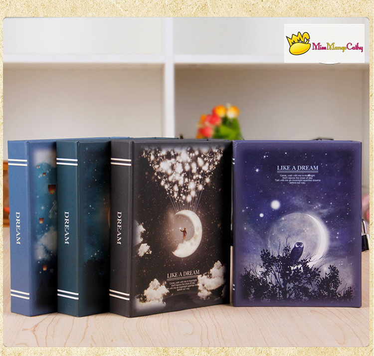 Like A Dream Diary with Lock Notebook Cute Functional Planner Lock Book Dairy Agenda Journal Memo Kids Gift Box Package<br><br>Aliexpress