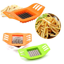 Useful Cute Kitchen French Fry Potato Chip Cutter Slicer Maker Vegetable Chopper Blade