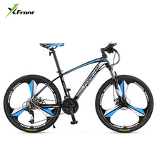 New brand 26/27.5 inch wheel aluminum alloy frame 27/30 speed mountain bike outdoor downhill MTB bicicleta disc brake bicycle(China)