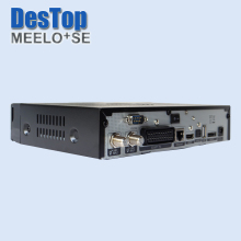 MEELO SE Original Software twin tuner Satellite TV Receiver Linux OS 1300 MHz CPU Mini solo2 SE DHL free shipping