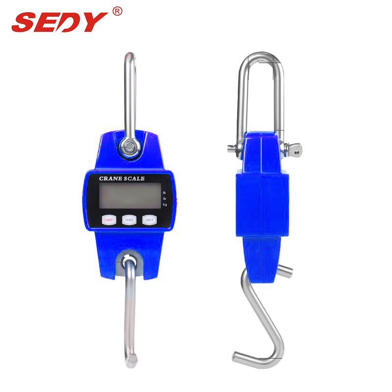 SEDY 2017 New 300kg  Electronic Portable Mini Crane Scale Weight Digital LCD Hanging Hook 16045207<br>