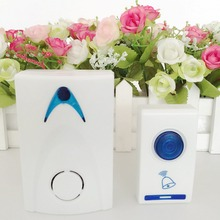 1Pc LED Wireless Chime Door Bell Doorbell & Wireles Remote control 32 Tune Songs C1 100M Range for Home Offices Hotels