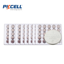 200Pcs*PKCELL CR2025 2025 DL2025 3V Lithium Battery Button Cell Battery(China)