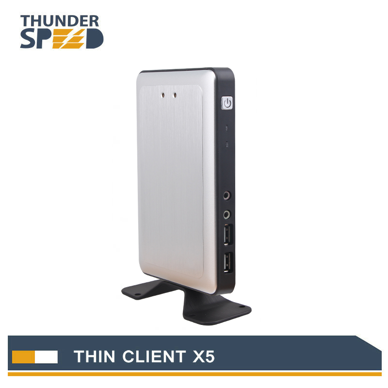 2016 Newest Linux Embedded Thin Client X5 PC Station Mini PC Connect Server via RDP8.0 Protocol with Free Shipping<br><br>Aliexpress