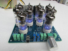 Assembled HIFI 6J1 tube headphone amp board Deluxe tube preamplifier board 10pcs 6J1 tubes(China)