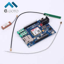 SIM868 GSM GPRS GPS Bluetooth 4 In 1 Module With Antenna for Arduino 51 STM32 Support Voice Short Message TTS DTMF(China)