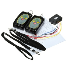 12-24V Winch In Out 434MHz Wireless Remote Control Swtich For Truck/Jeep SUV ATV Warn Receiver Module and RF Transmitter