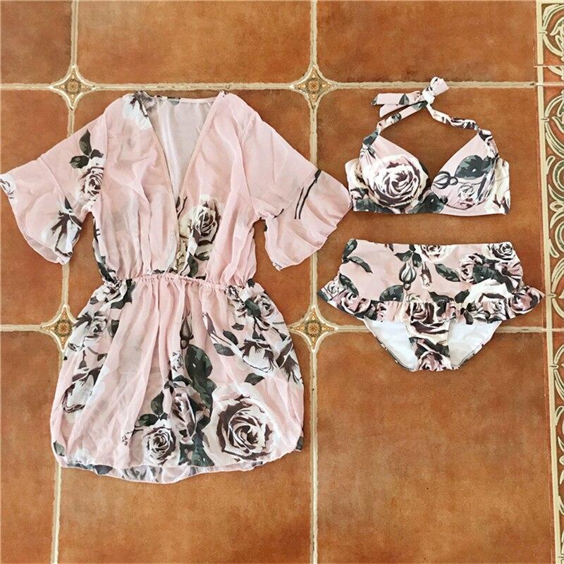 Staerk Hot Sale New Arrival 2017 Beach Female Piece Suit Blouse Bikinis Korea Small Gather Fragrant <br>