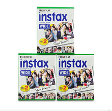 Genuine Fujifilm Instax Instant Wide Film White 60 Sheets For Fuji Instax Instant Photo Camera 300 / 200 / 210 / 100 / 500AF
