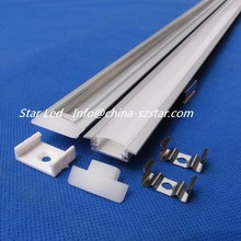 2-22pcs/lot,20inch 0.5m long per piece QC2507-0.5M Led aluminum profile channel led aluminum extrusion(China)