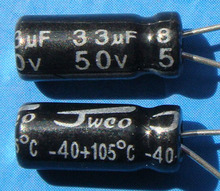 Free Delivery. High and low voltage complete series 33 uf electrolytic capacitors 50 v 33 uf 5 RMB 100 only