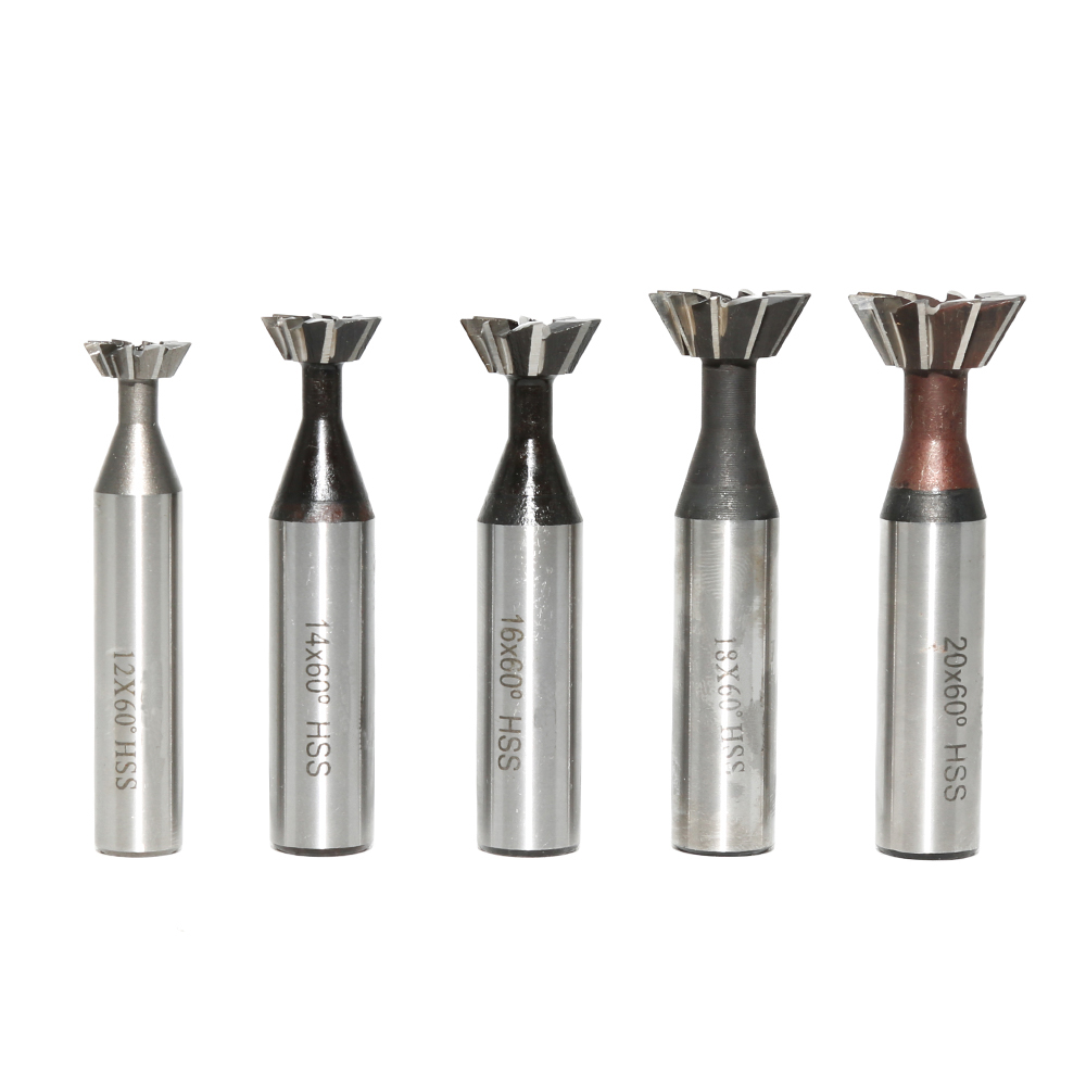 Hss Dovetail Cutter End Mill Cutting Dia 8mm 70 Degree Dovetail Cutter 8×70°