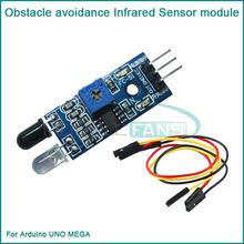 Smart car Obstacle avoidance Infrared Sensor module Reflective photoelectric