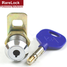 Rarelock High Security Cam Lock for Cabinet ATM Cash Box Safe Box Equipment Brass Key DIY Furniture Hardware b a