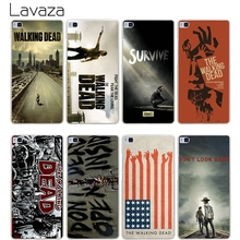 Buy Lavaza Walking Dead Hard Transparent Cover Case Huawei P10 P9 Lite Plus P8 Lite P7 6 G7 & Honor 8 Lite 4C 4X 7 for $1.23 in AliExpress store