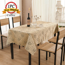 "Ship FREE 1PC Vintage Home Table Cloth 72"" Premire Quality Hotel Restaurant Round Endurable Jacquard Damask Decor Table Linens"