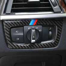 Buy Car styling Carbon Fiber Gear Shift Handle Sleeve decoration cover trim BMW 3series 4 series 3 GT Interior accessories for $18.80 in AliExpress store