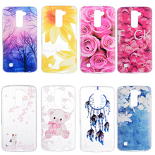 Soft Silicon Mobile Phone Cases For LG K7 LTE Tribute 5 LS675 Q7 LTE MS330 5.0 inch K7 Dual SIM K7 M1 Covers Bag Skin Back Cases