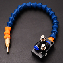 Buy 1pc Mist Coolant Lubrication Spray System High Quality Mist Coolant System 8mm Air Pipe CNC Lathe Milling Drill