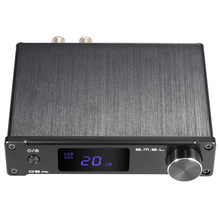 S.M.S.L Q5 pro Mini Portable HiFi Digital Analog/ USB/ Coaxial/ Optical Stereo Audio Power Amplifier Amp with Remote Controller