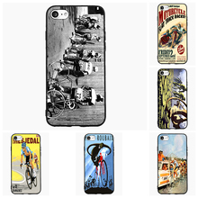 Bike Sports Cycle Racing Vintage Cell Phone Case For Samsung Galaxy A J 1 3 5 7 2016 Pro Cover Shell Accessories Decor Gift(China)